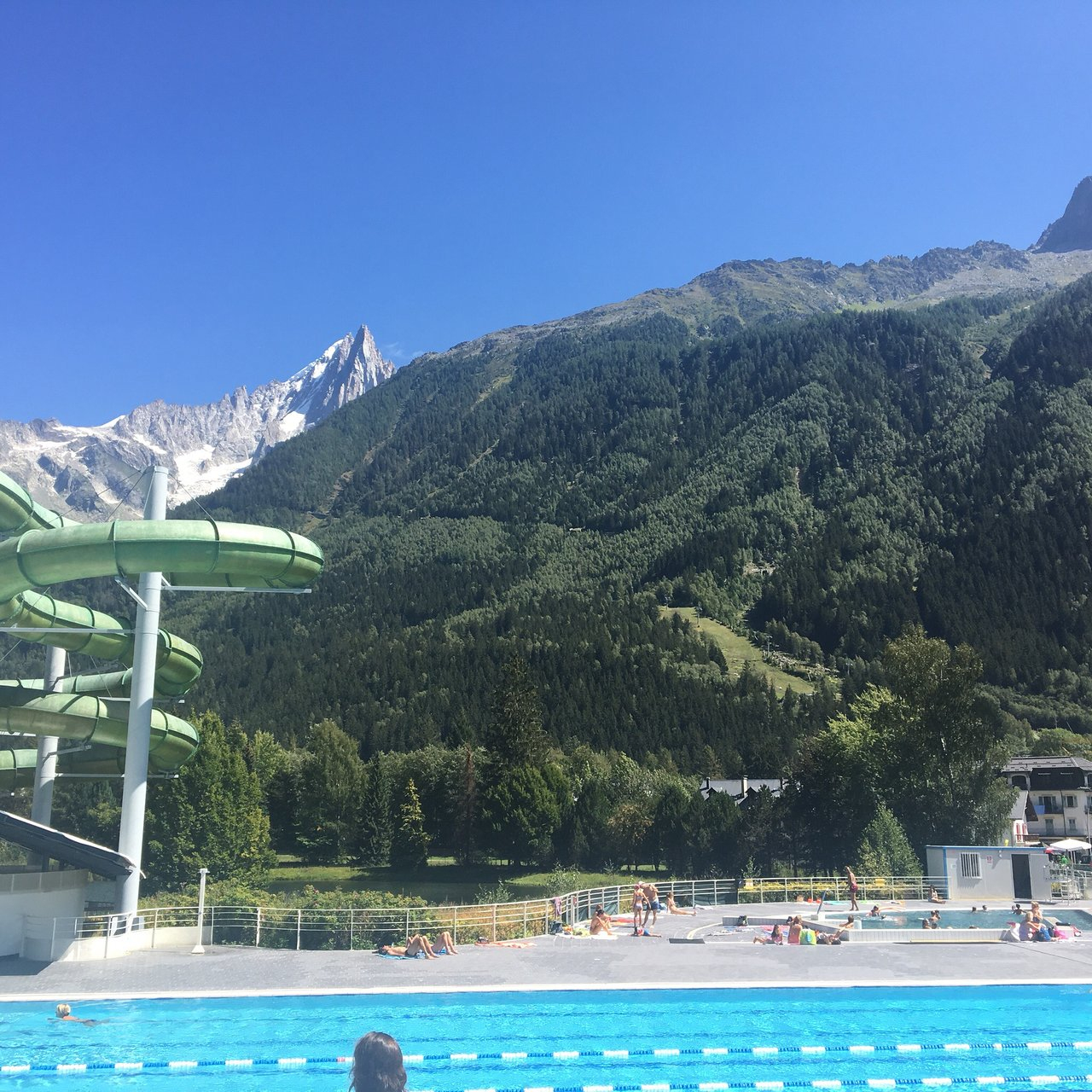 Piscine Et Centre Sportif Richard-Bozon (Chamonix ... concernant Chamonix Piscine