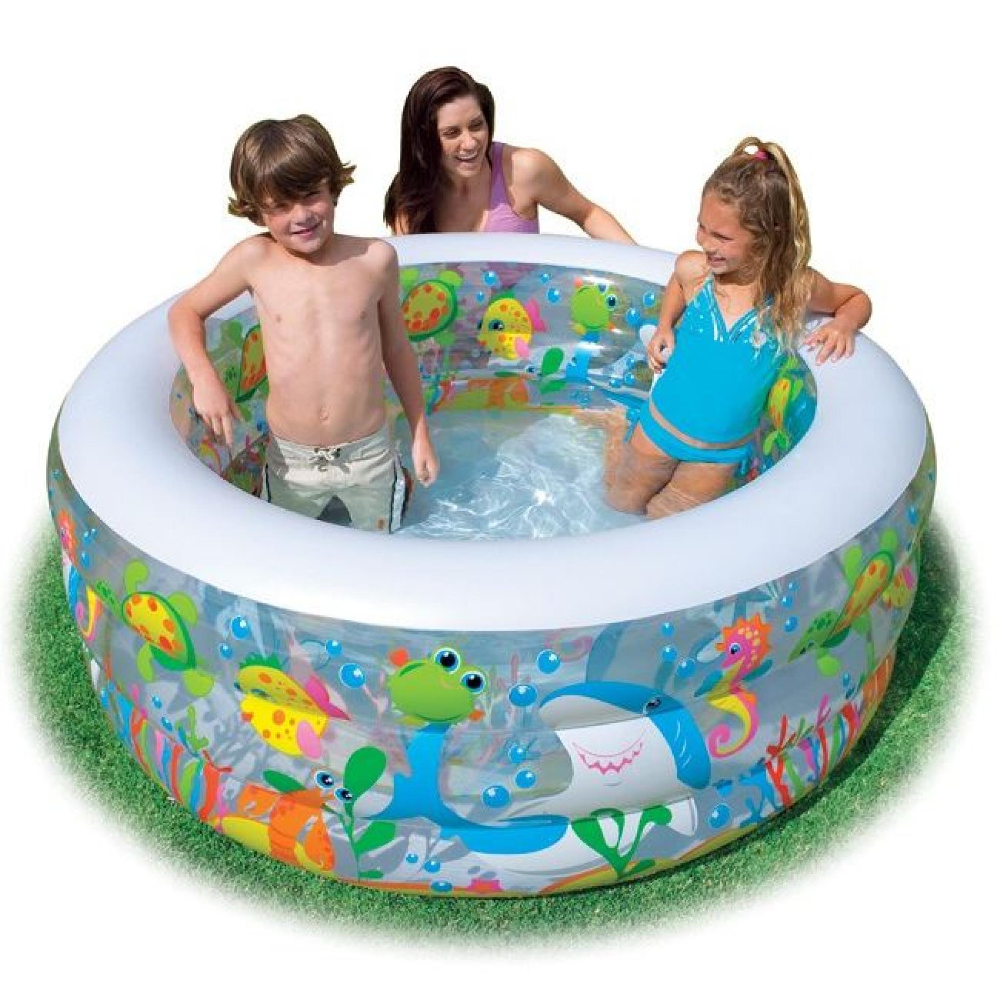 Piscine Gonflable Aquarium Intex concernant Piscine Enfant Pas Cher