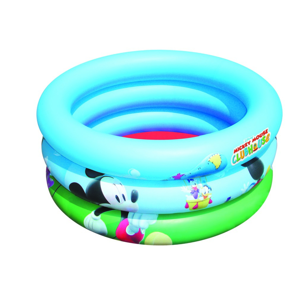 Piscine Gonflable Pour Bébé 3 Boudins Disney Club House Bestway Diamètre  73Cm X 30Cm destiné Piscine Boudin Gonflable