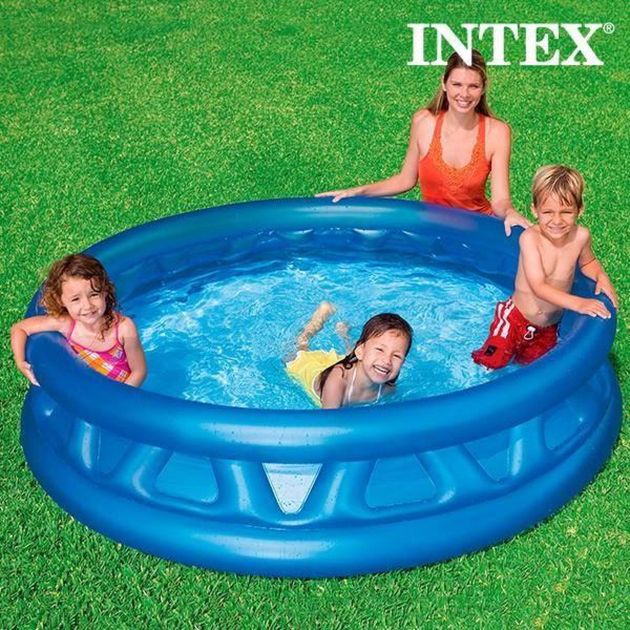 Piscine Gonflable Pour Enfants Intex (Ø 188 Cm) concernant Piscine Enfant Pas Cher