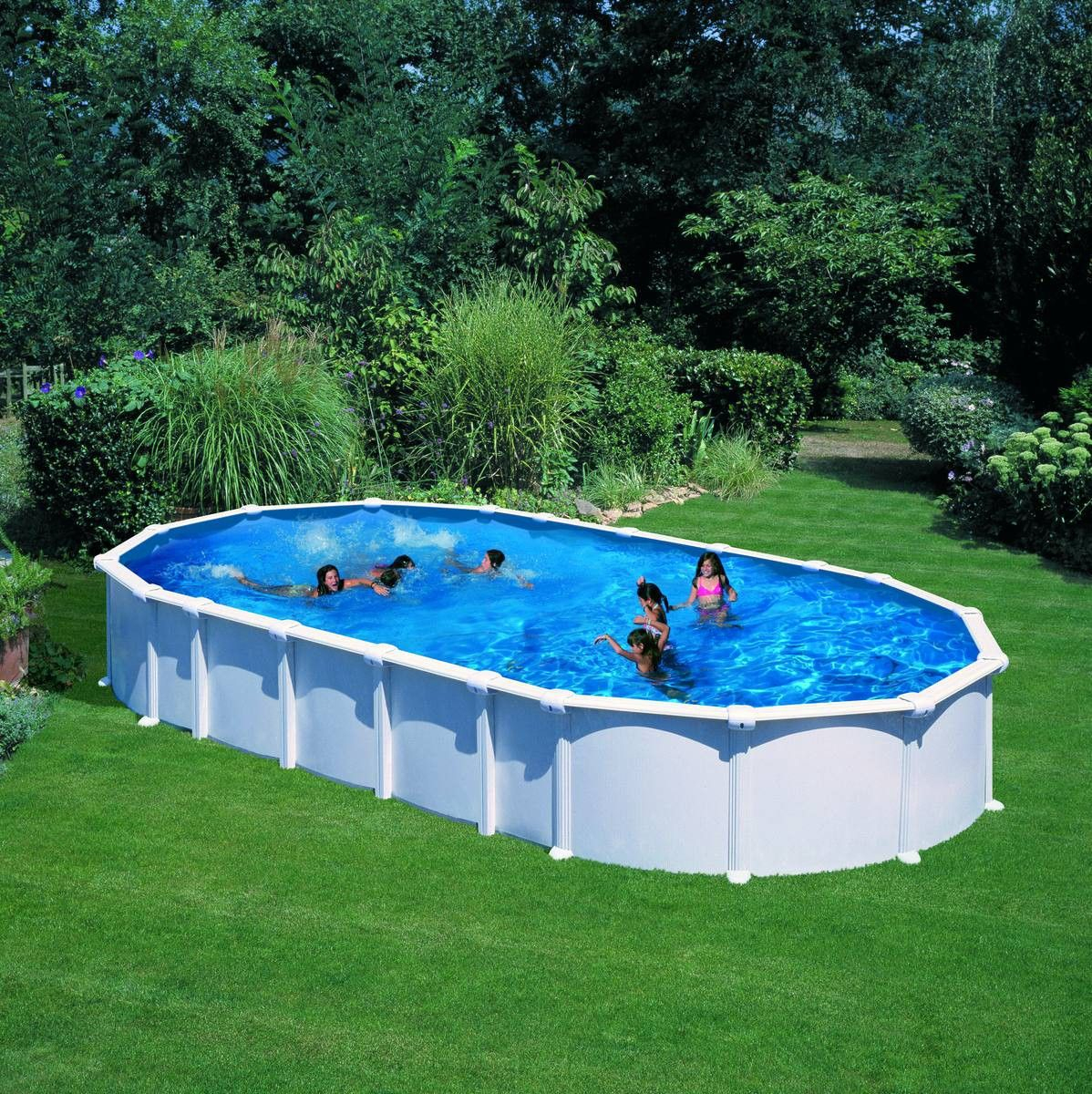 Piscine Gre D730X375 H132 Hors Sol Acier Dream Pool Ovale ... serapportantà Piscine Hors Sol Gre
