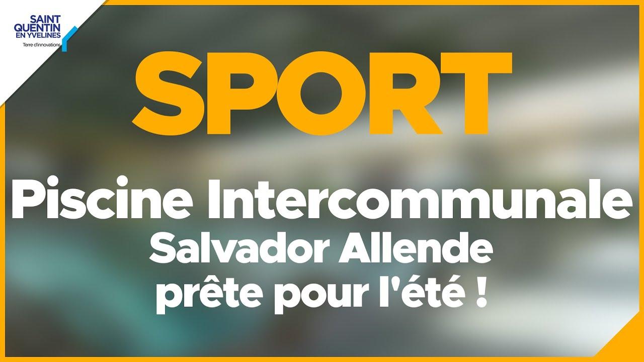 Piscine Intercommunale Salvador Allende Prête Pour L'été ! intérieur Piscine Des Clayes Sous Bois
