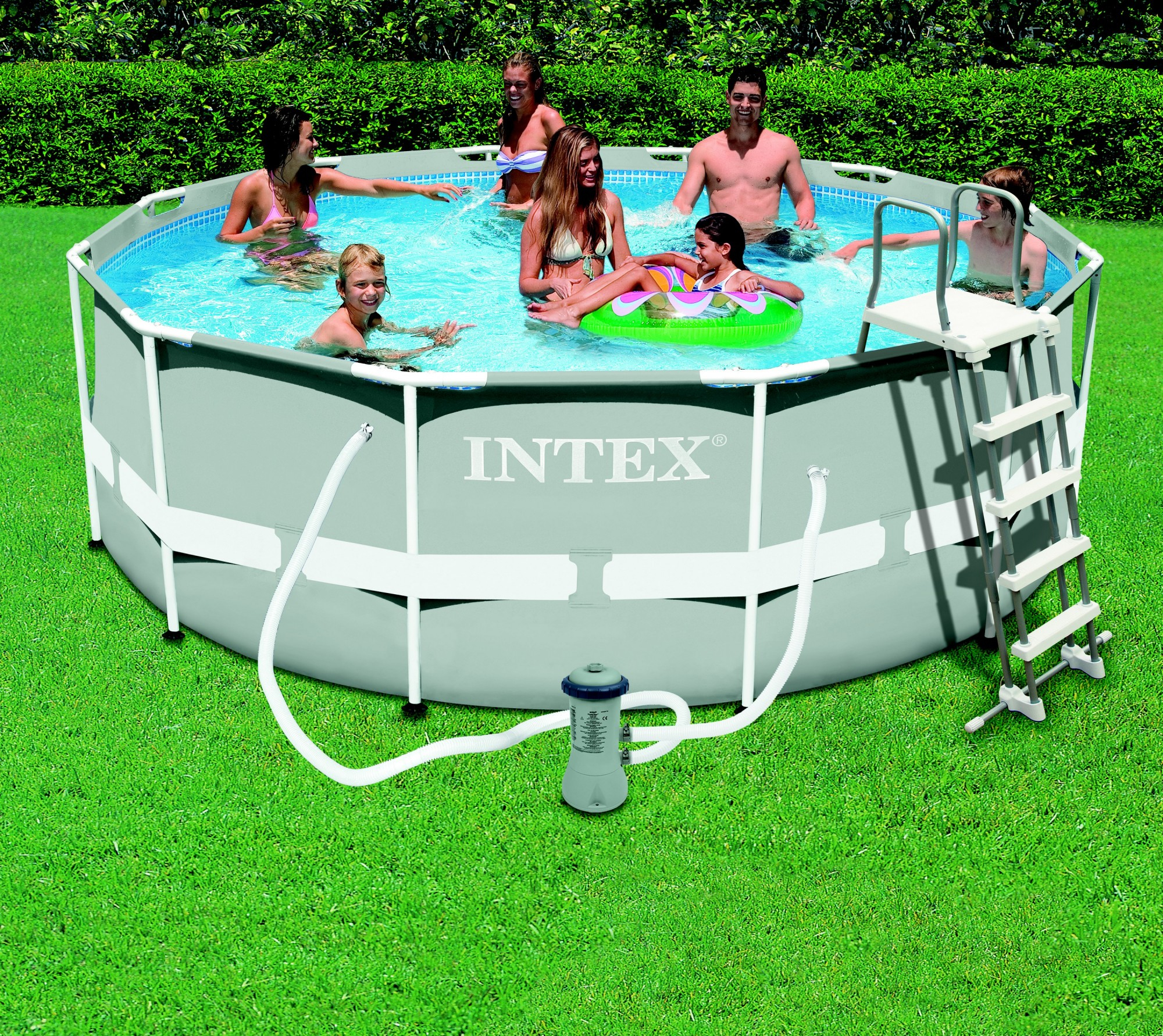 Piscine Intex Metal Frame - Groupe Abris Et Piscines destiné Prix Piscine Intex