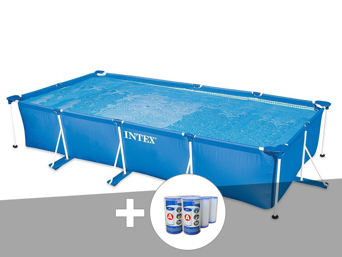 Piscine Intex Rectangulaire tout Piscine Intex Rectangulaire Tubulaire