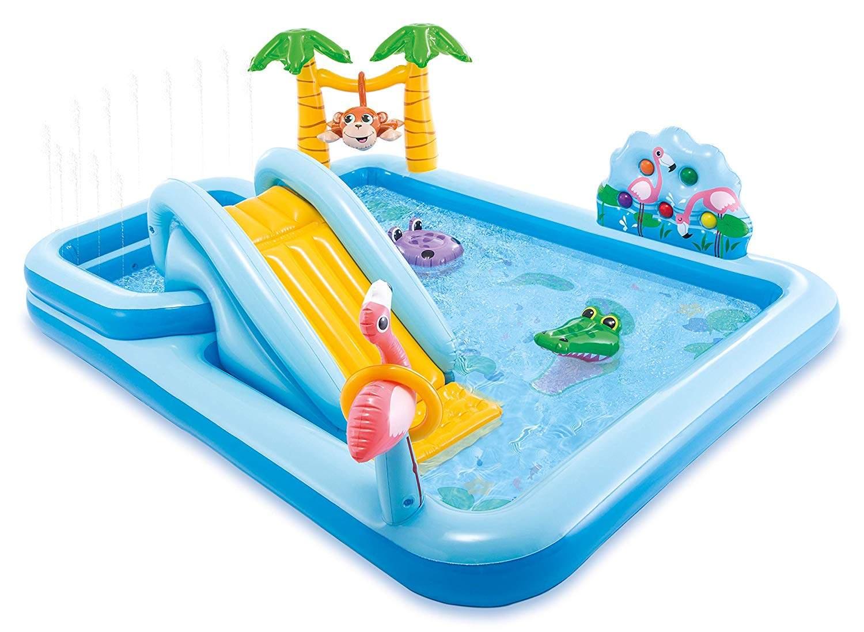 Piscine Pour Enfants Intex 57161 Jungle Adventure Play Center pour Piscine Intex Enfant