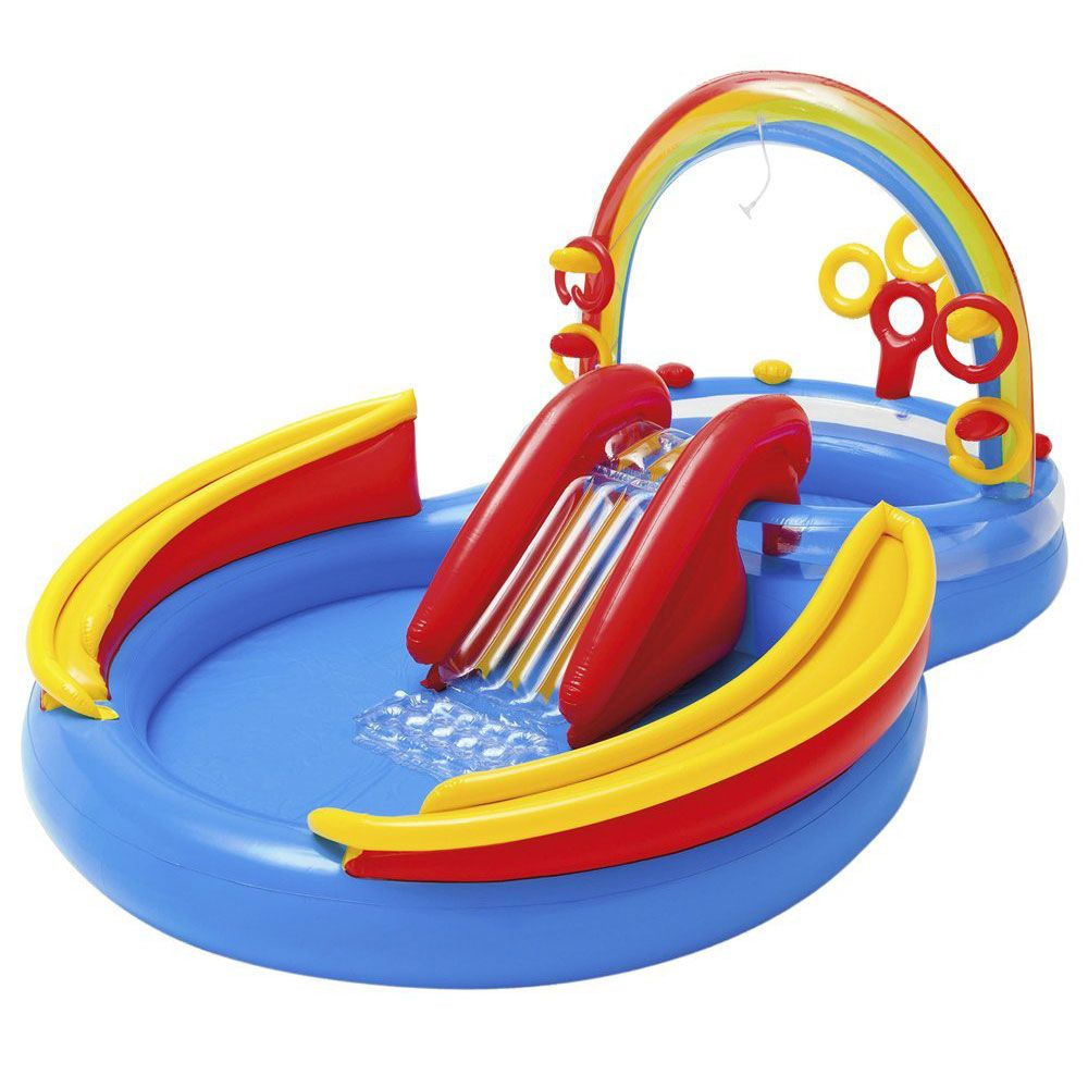 Piscine Pour Enfants Rainbow Ring Intex : Avis Et ... serapportantà Piscine Intex Enfant