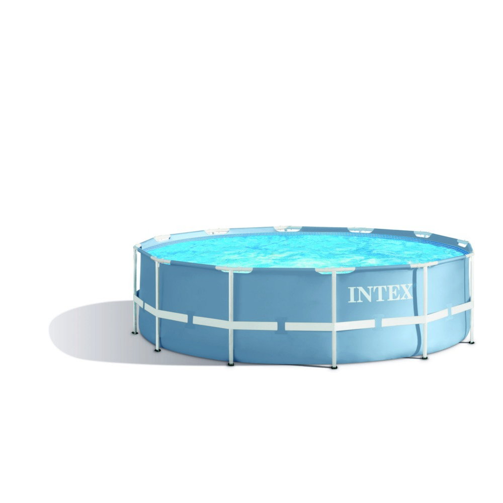 Piscine Tubulaire Ronde Intex Diamètre 3.66M X 99 Cm tout Piscine Tubulaire Ronde Intex