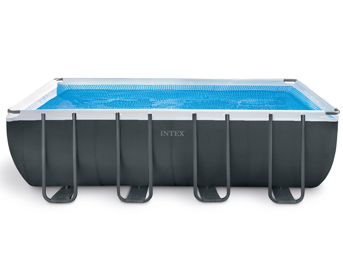 Piscine Tubulaire Ultra Xtr Frame Rectangulaire 5,49 X 2,74 X 1,32 M -  Intex - Piscine Seule avec Piscine Intex Rectangulaire Tubulaire