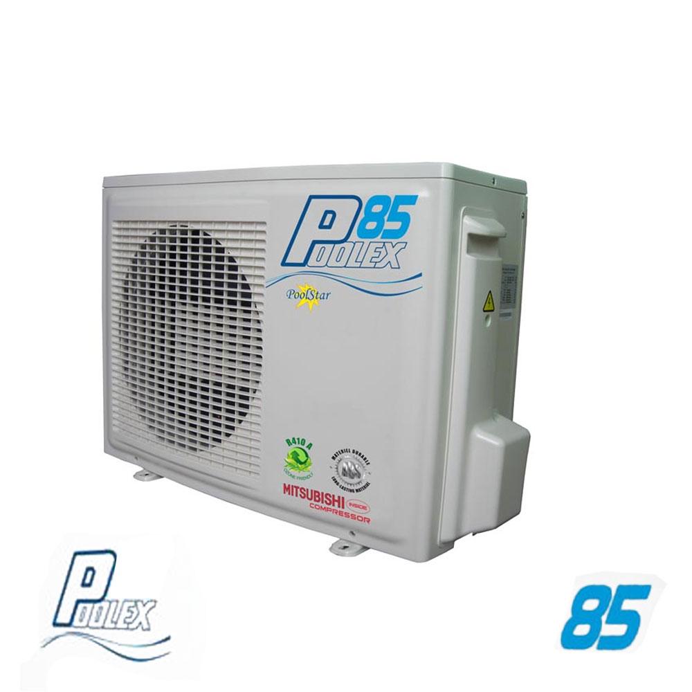 Piscinex - Chauffage Piscine - Pompe À Chaleur Poolex 85 ... destiné Pompe A Chaleur Piscine 50M3