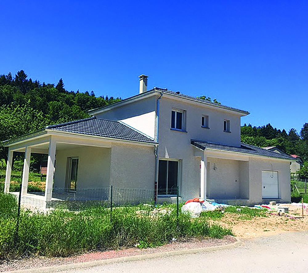 Plan De Maison : Maison Avec Une Terrasse Couverte   Faire ... encequiconcerne Maison Avec Terrasse Couverte