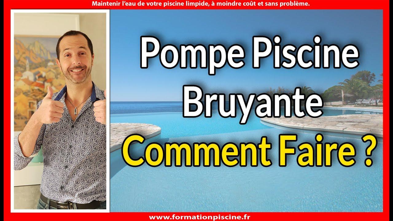 Pompe Piscine Bruyante - Comment Faire ? tout Formation Pisciniste