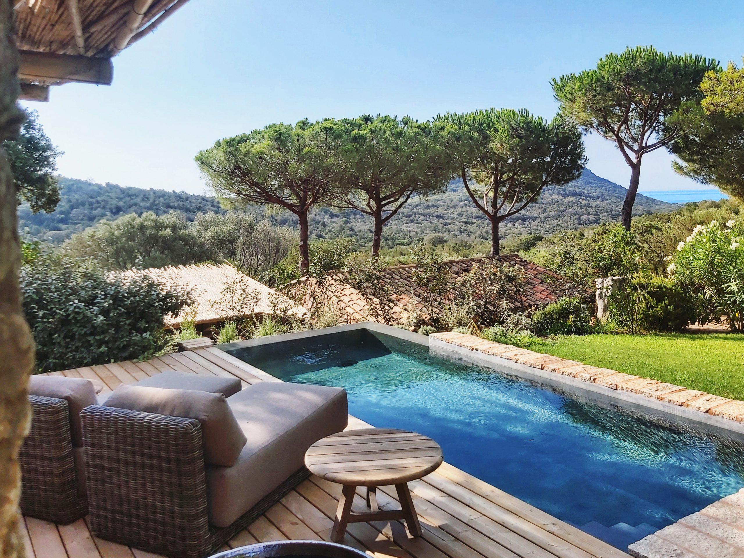Pool Suites 2020 - Résidence Hôtelière **** Palombaggia ... à Hotel Avec Piscine Privée France