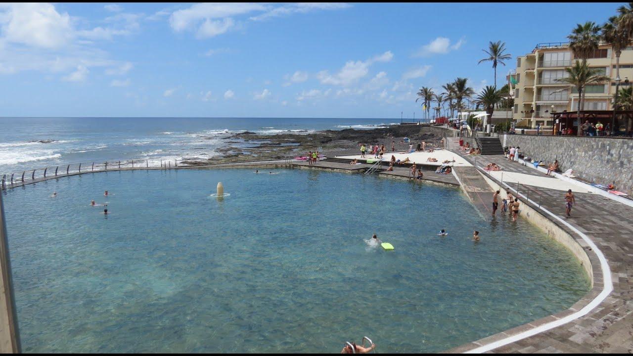 Punta Del Hidalgo - Piscina Natural - Natural Pool - Piscine Naturelle -  Tenerife - Canary Islands destiné Piscine Naturelle Tenerife