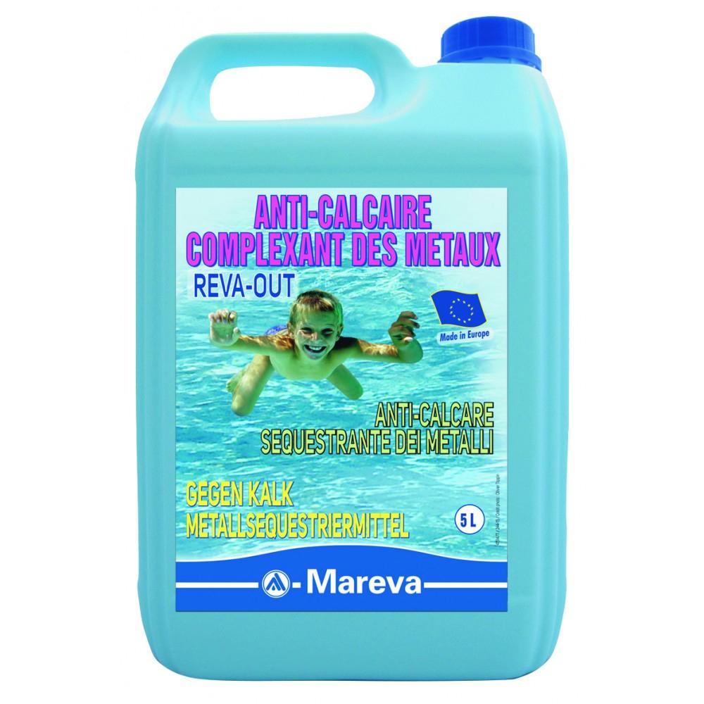 Reva-Out Anti-Calcaire Complexant Des Metaux - Alliance ... avec Produit Anti Calcaire Piscine