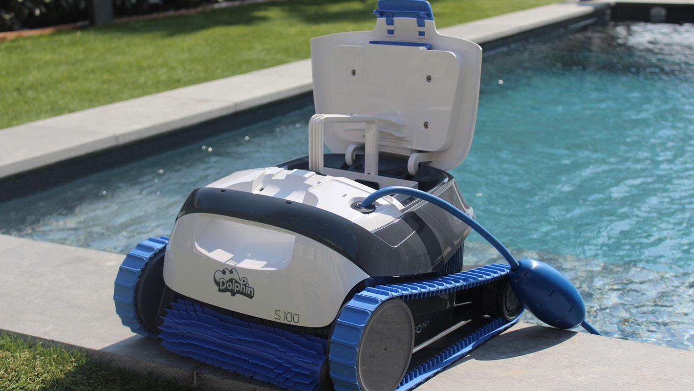 Robot De Piscine Dolphin S100 | Nettoyage Autonome à Robot Piscine Dolphin S100