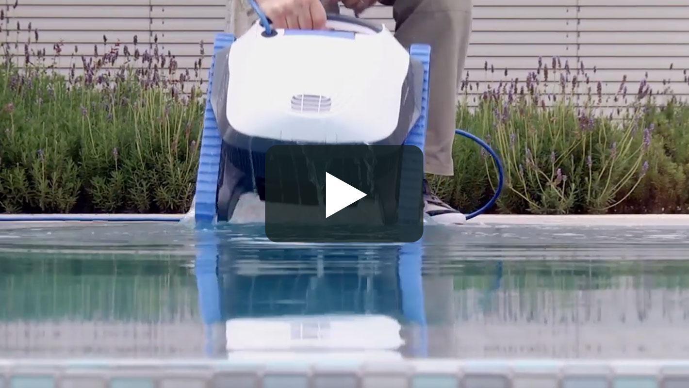 Robot De Piscine Dolphin S100 | Nettoyage Autonome serapportantà Robot Piscine Dolphin S100