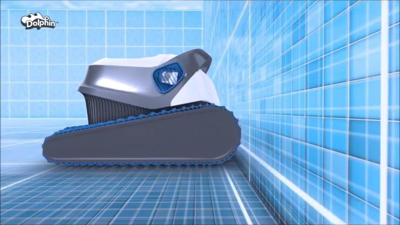Robot Piscine Dolphin Série S / S100 S200 S300 S300I : Nettoyage  Intelligent - Robotpiscine.fr serapportantà Robot Piscine Dolphin S100