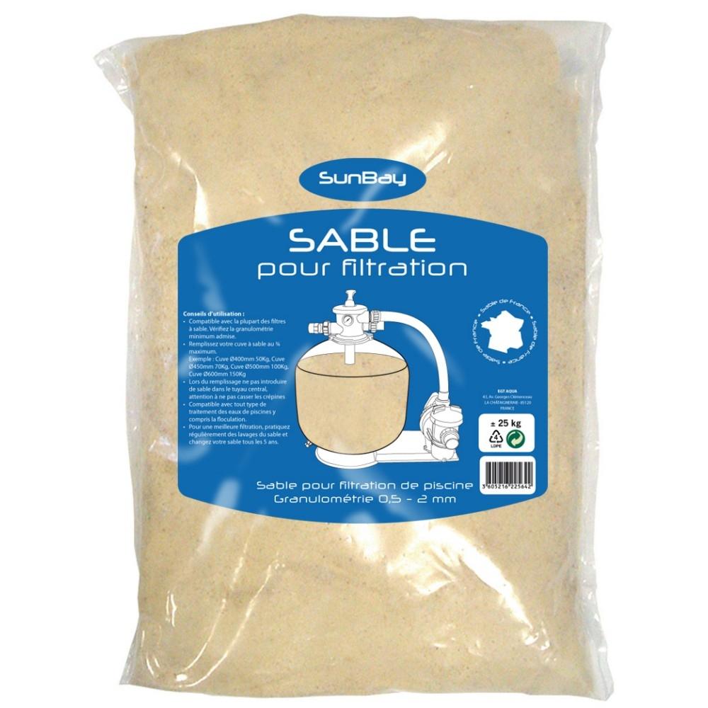 Sac De Sable Sunbay concernant Sable Pour Pompe Piscine