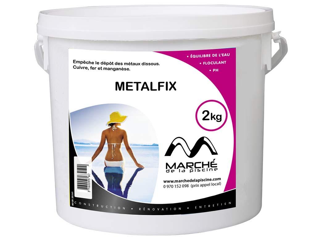 Séquestrant Métaux Piscine Metalfix Marchedelapiscine Pot 2Kg pour Séquestrant Métaux Piscine