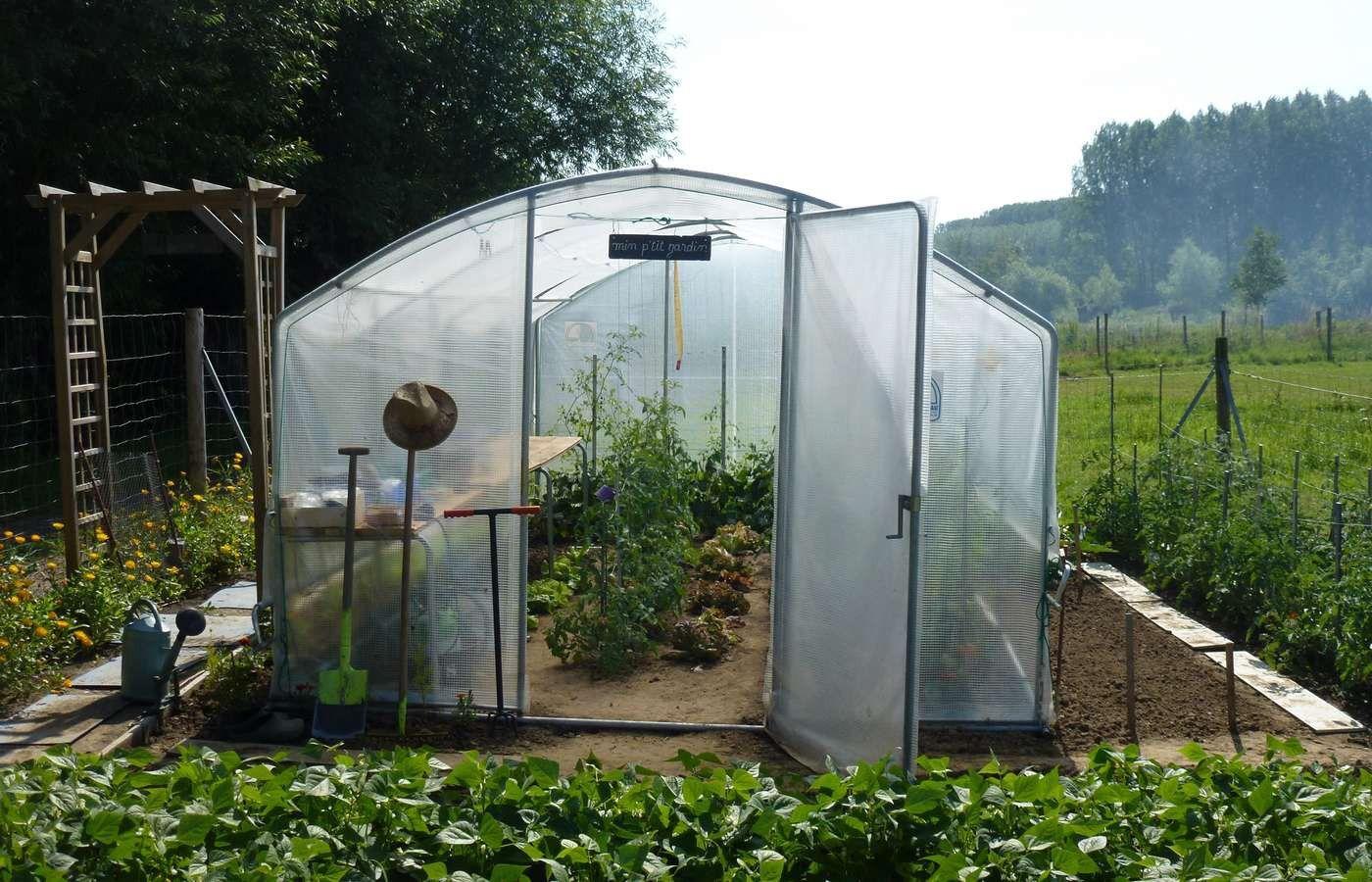 Serre De Jardin 4 Saisons 18M2 + Kit Manivelles - Decouvrez ... intérieur Serre De Jardin Polycarbonate 18M2
