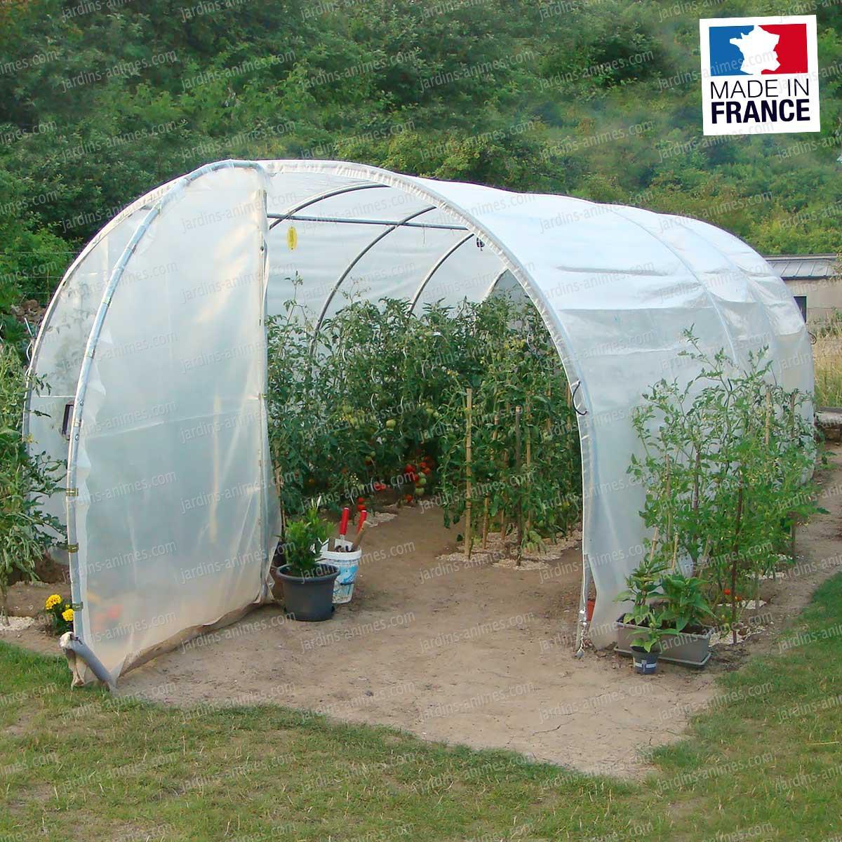Serre De Jardin Polycarbonate 18M2 - Veranda Et Abri Jardin pour Serre De Jardin 18M2 Polycarbonate