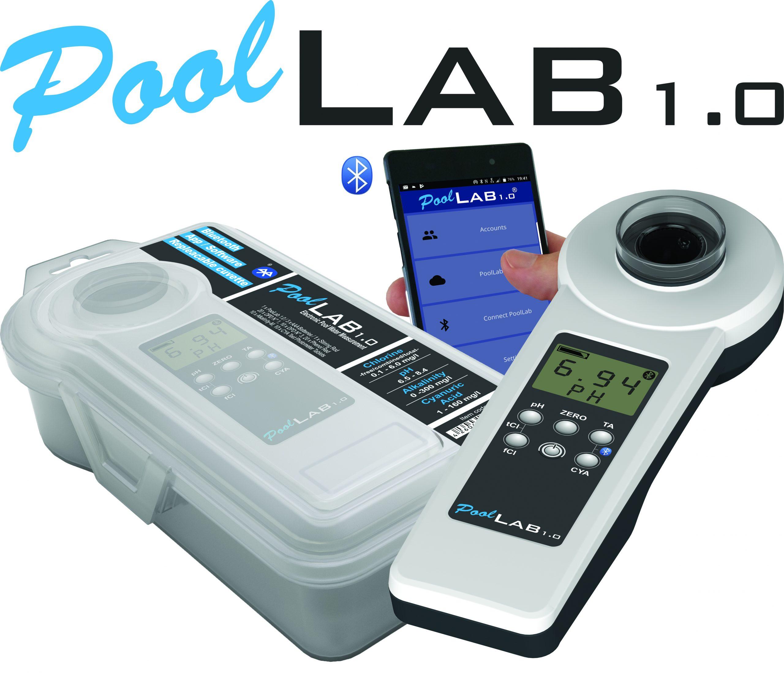 Testeur Électronique Pour Piscines - Photomètre Pool-Lab 1.0 avec Testeur Electronique Piscine