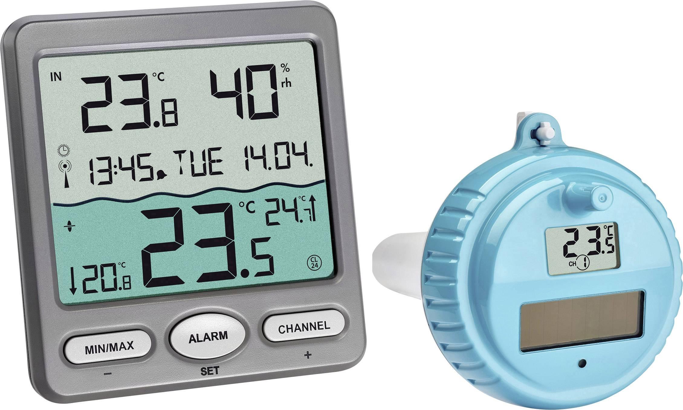 Thermomètre De Piscine Tfa Dostmann 30.3056.10 Anthracite intérieur Thermometre De Piscine
