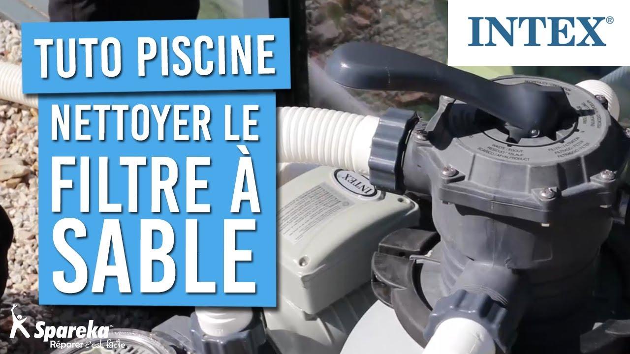 Tuto - Comment Nettoyer Le Filtre À Sable De Votre Piscine intérieur Nettoyage Filtre Piscine Vanne 6 Voies
