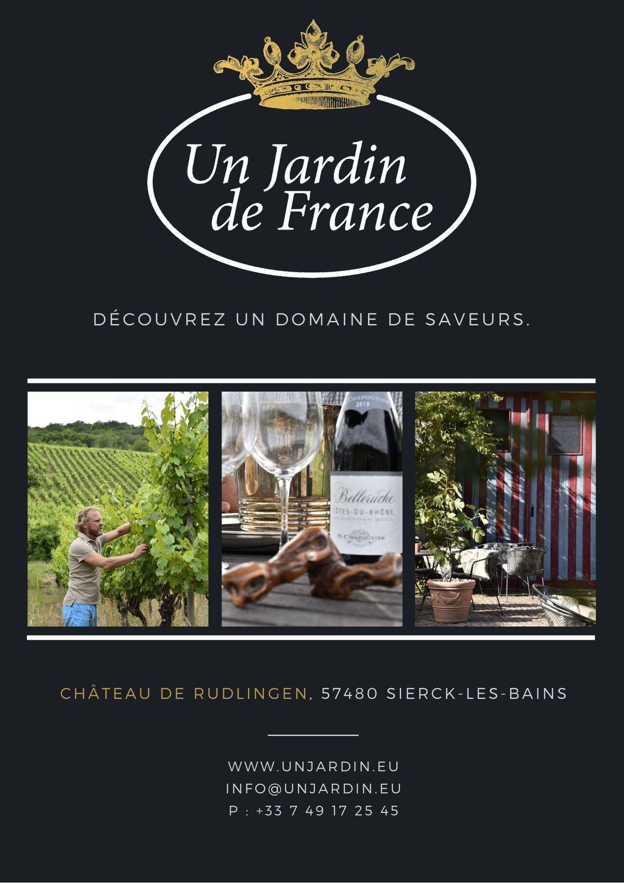Un Jardin De France - Sierck Les Bains | Französische Küche ... intérieur Un Jardin De France Sierck Les Bains