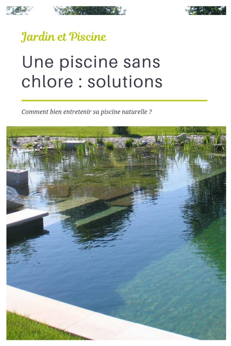 Une Piscine Sans Chlore : Les Différentes Solutions - Guide ... encequiconcerne Piscine Sans Chlore