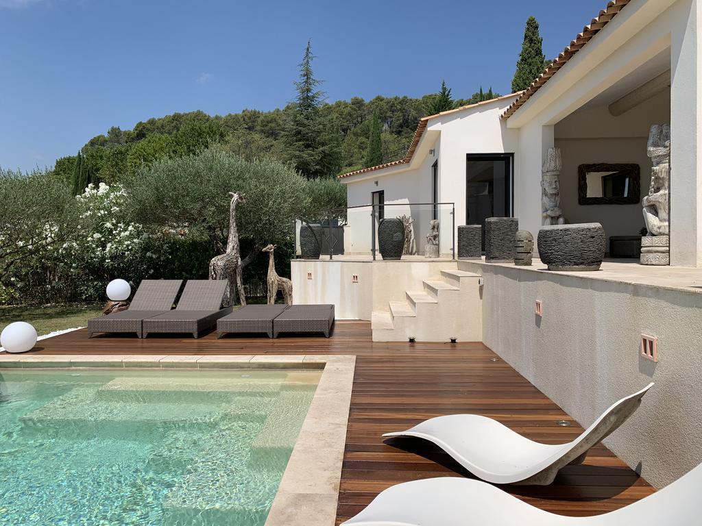 Villa Moderne En Provence Avec Piscine Privée Chauffée ... tout Hotel Avec Piscine Privée France