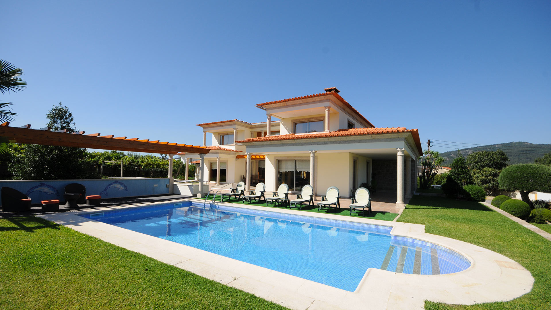 Villa Ravira - Villa Rental In Porto And North, District Of ... avec Location Maison Portugal Piscine