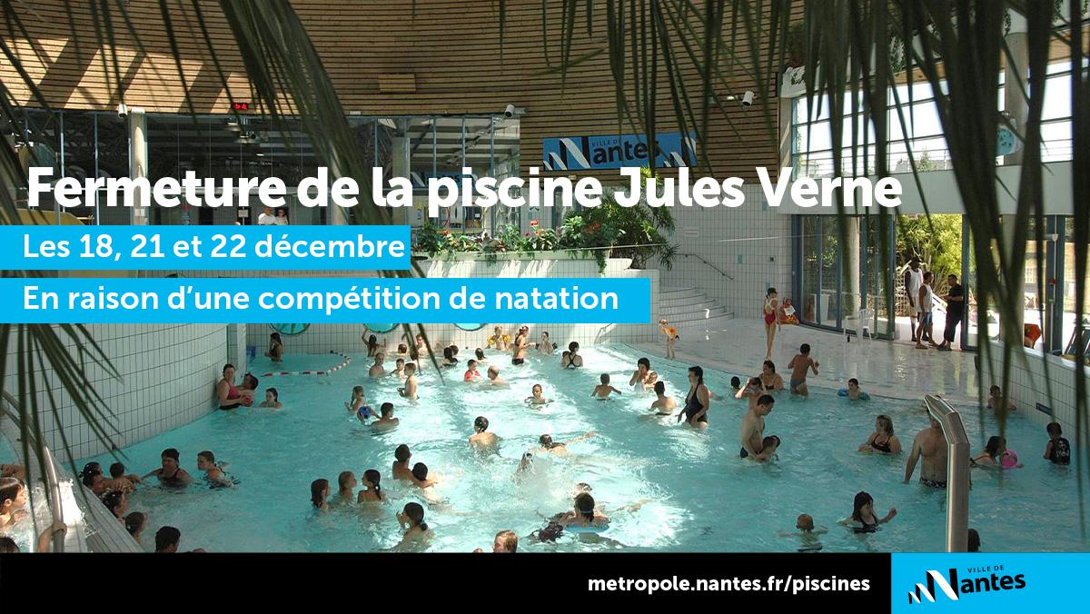 """Ville De Nantes Ar Twitter: """"La #piscine Jules Verne Sera ... tout Piscine Jules Verne À Nantes"""