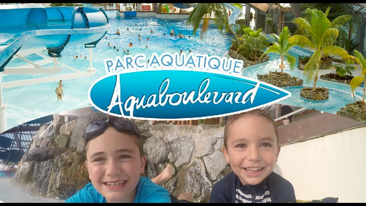 Vlog - Parc Aquatique Aquaboulevard En Plein Paris - Piscine & Toboggan -  1/2 pour Piscine Avec Toboggan Paris