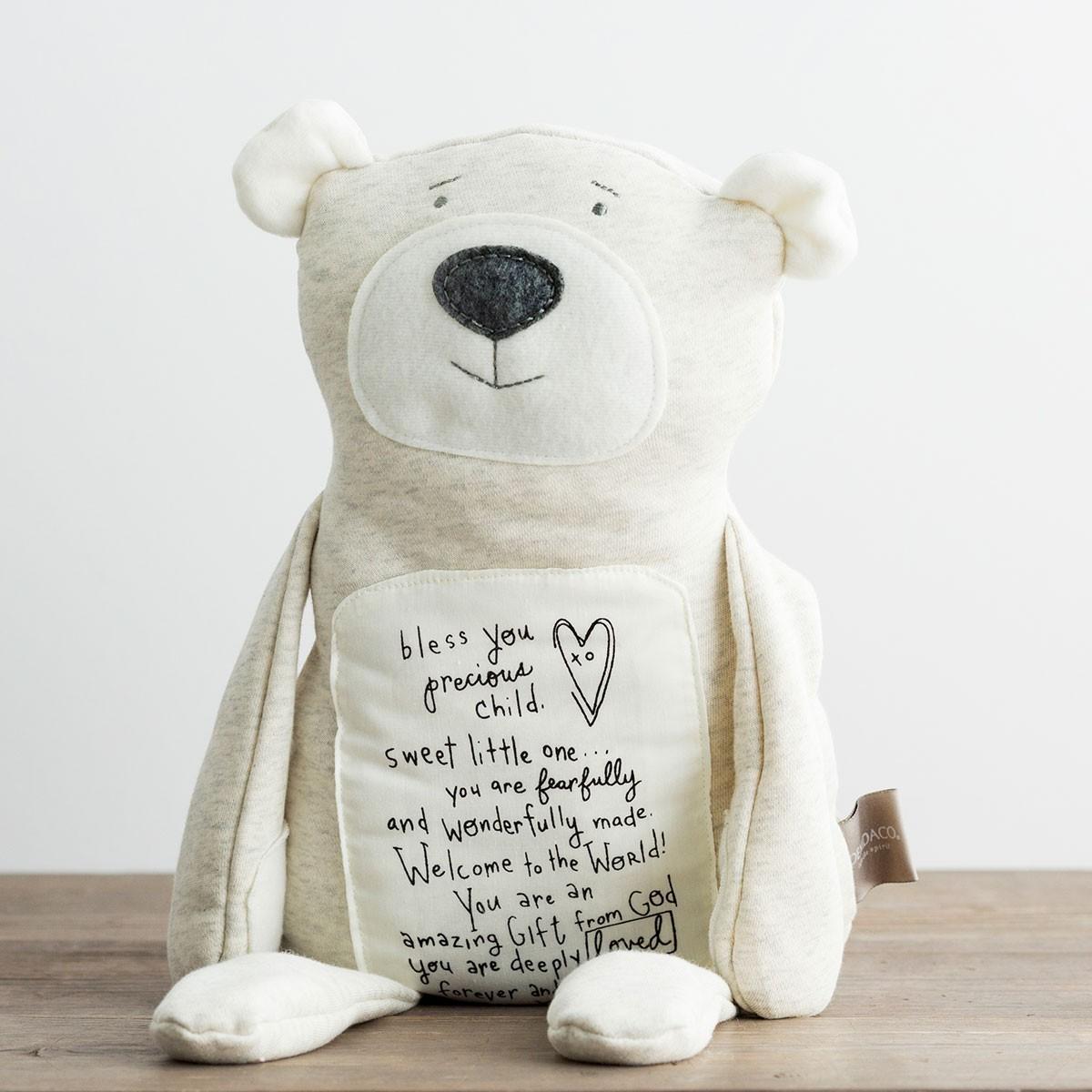 Welcome To The World - Inspirational Teddy Bear intérieur Code Promo Tediber