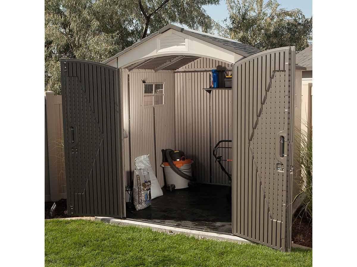 Abri De Jardin Pvc Landmark 4,54 M² - Lifetime avec Abri De Jardin Lifetime Landmark