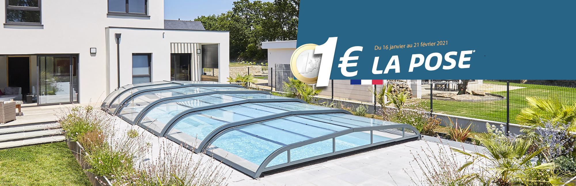Abri De Piscine En Aluminium: Fabrication Sur Mesure - Abri ... serapportantà Abri De Piscine Rideau