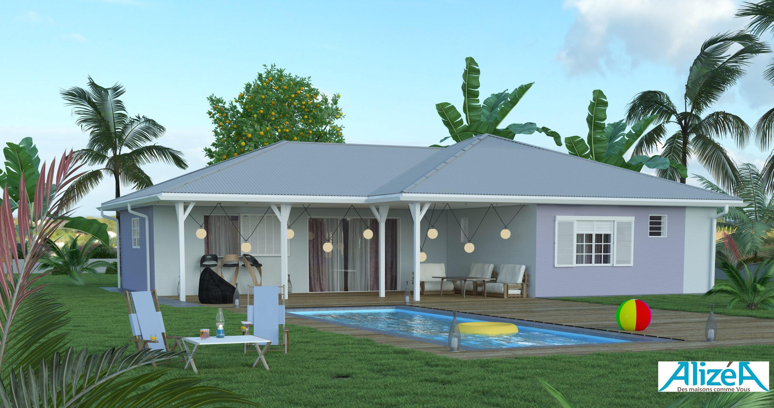 Accueil - Constructeurs De Maisons Nf En Martinique (972 ... encequiconcerne Maison En Kit Martinique