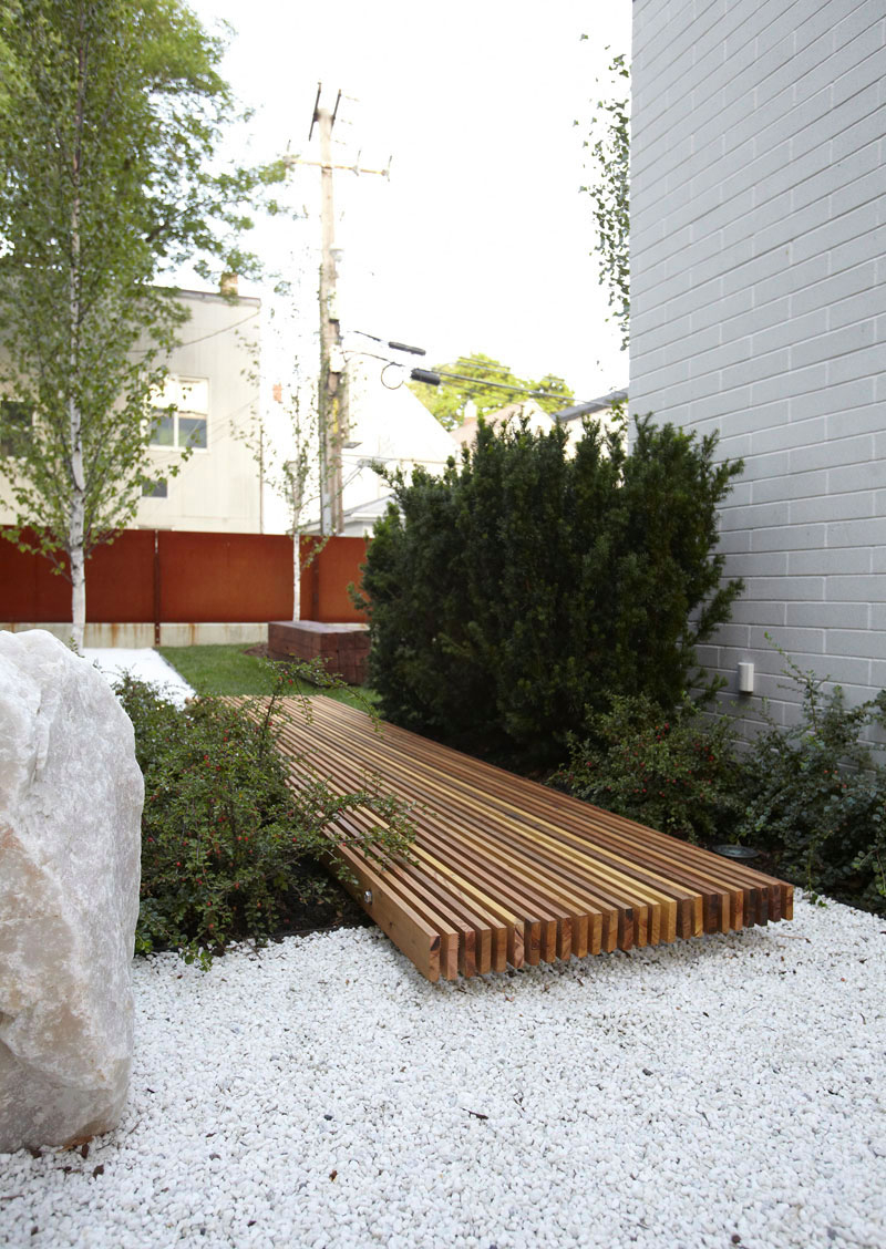Allée De Jardin : 14 Idées Pour Créer Une Allée De Jardin ... à Allée Entrée Maison Contemporaine