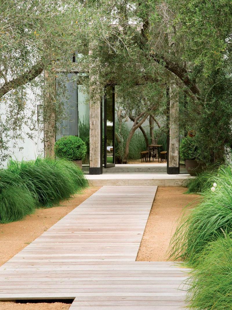 Allée De Jardin : 14 Idées Pour Créer Une Allée De Jardin ... serapportantà Allée Entrée Maison Contemporaine