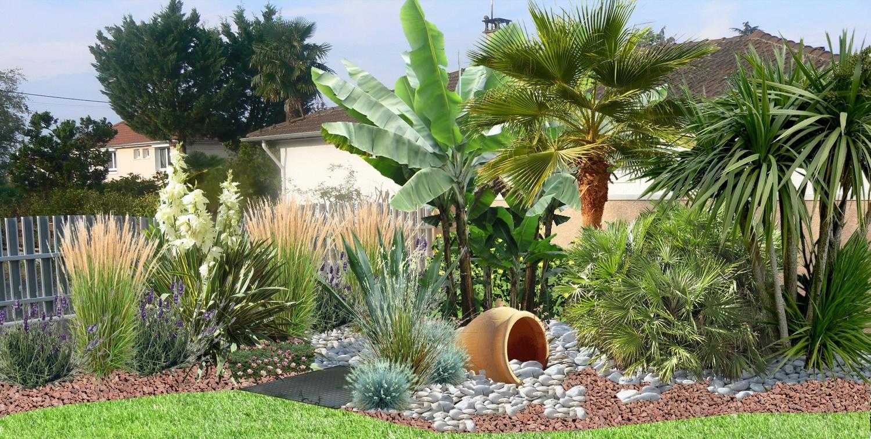 Aménager Un Jardin De Galets concernant Idee Massif Avec Olivier