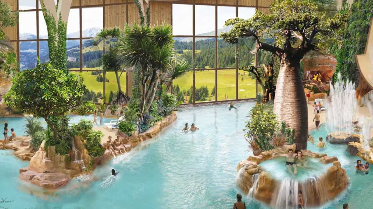 Aquariaz - Un Paradis Tropical À La Montagne tout Avoriaz Piscine