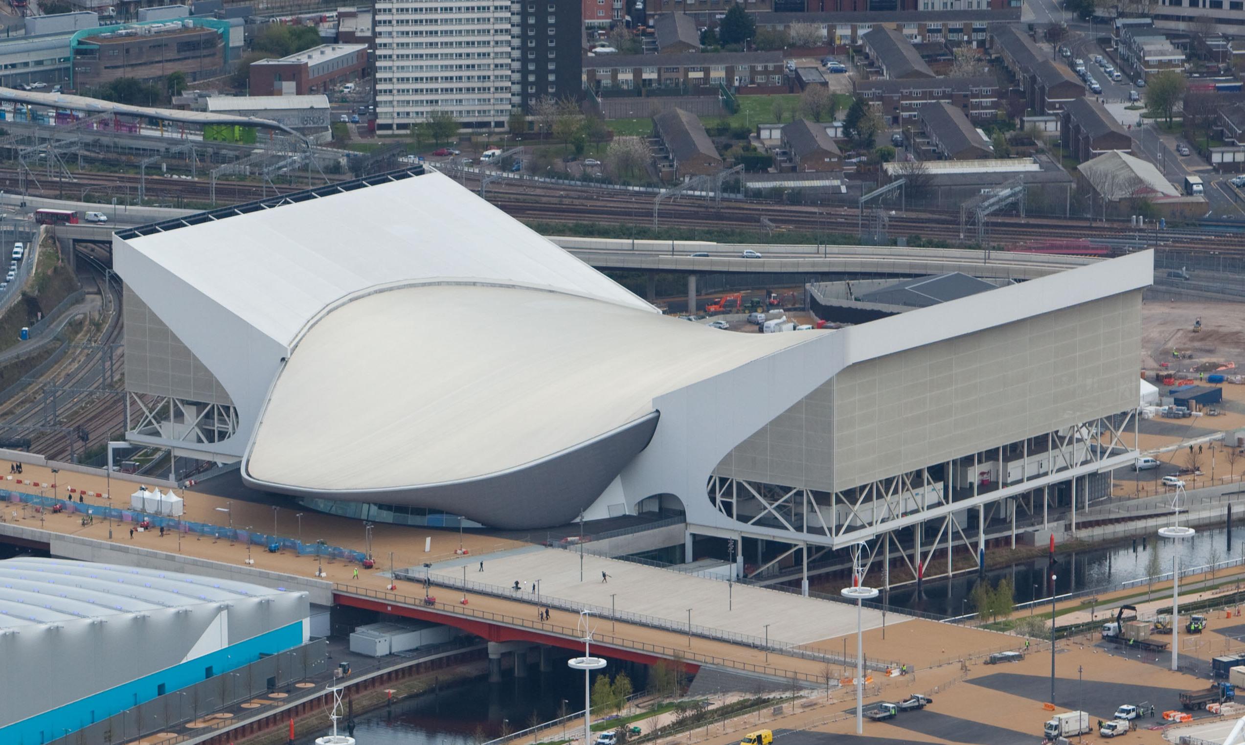 Aquatics Centre — Wikipédia avec Piscine Londres