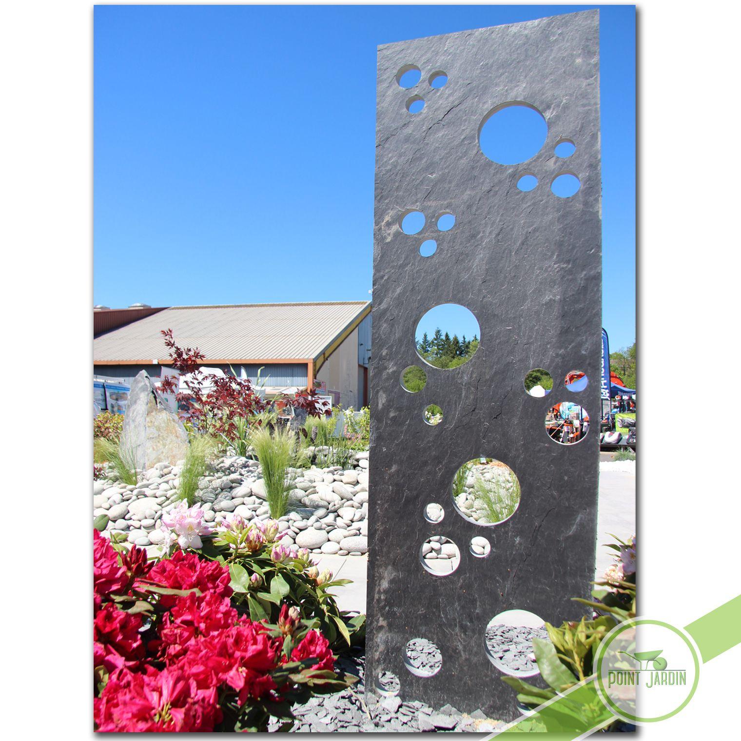 Ardoise Bulles - | Jardin Contemporain, Déco Jardin, Idee ... dedans Idee Deco Jardin Avec Ardoise