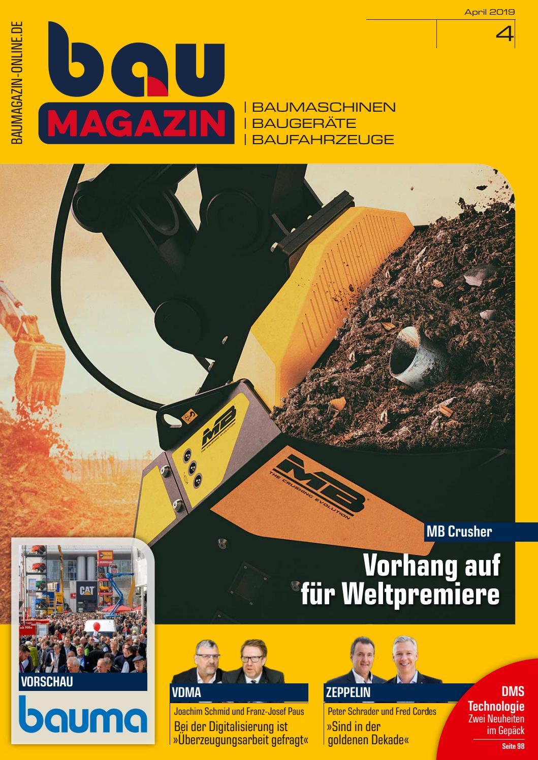 Baumagazin April 2019 By Sbm Verlag Gmbh - Issuu avec Bz 120 Cm But