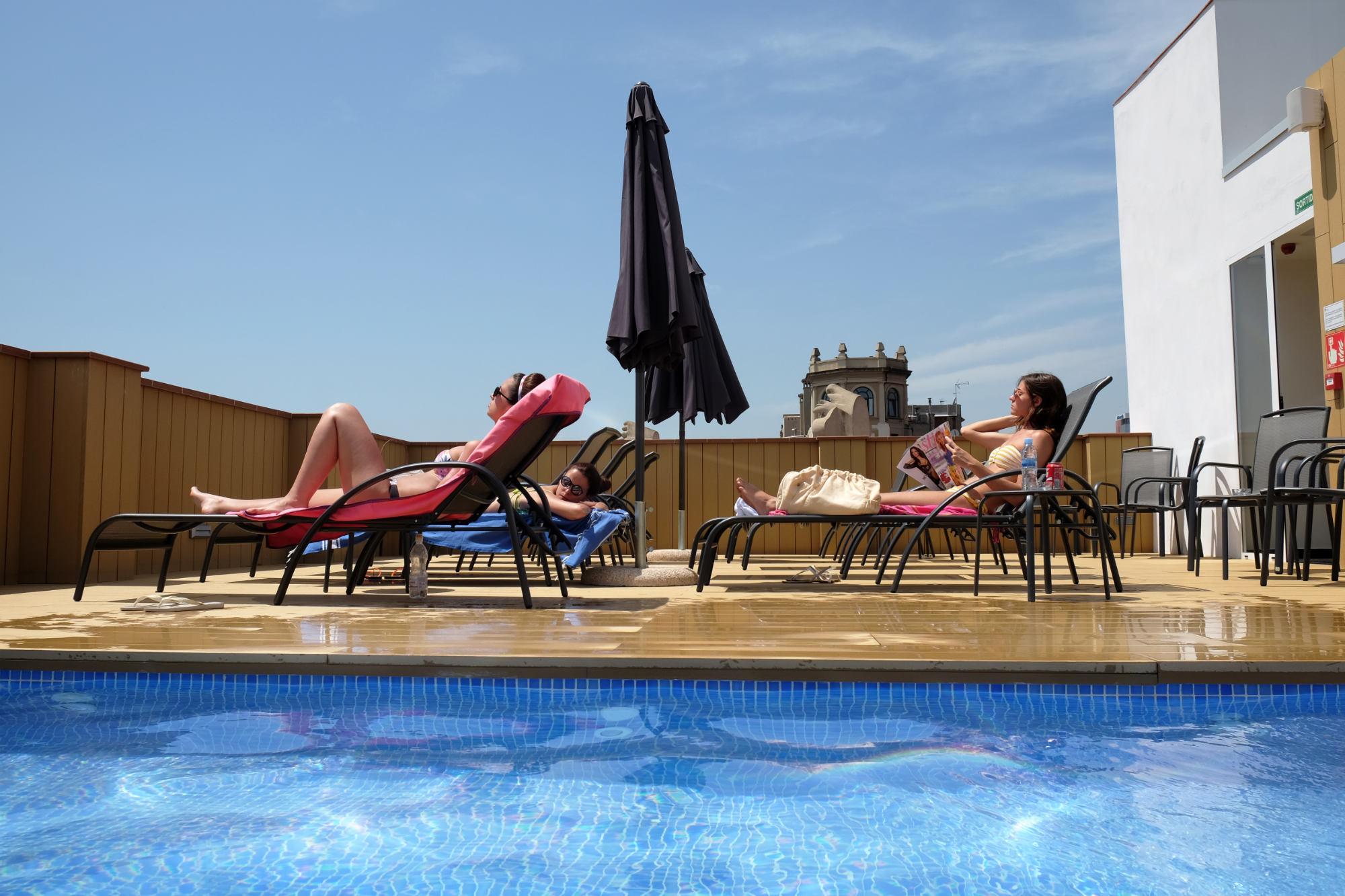 Bienvenue À L'Hôtel Chi - Hotel Chi Barcelona Centro tout Hotel Avec Piscine Barcelone