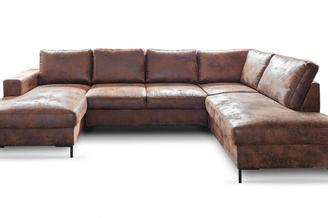Bobochic Lilly - Canapé Panoramique Au Style Vintage ... intérieur Canapé D'Angle Bardwell