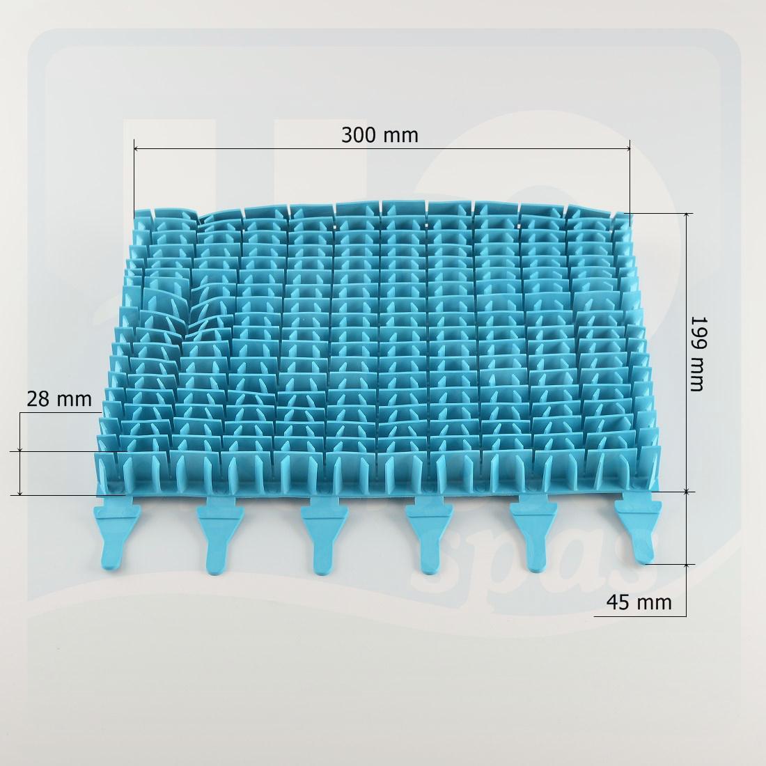 Brosses Lamelles Bleues Turquoise Pour Robot De Piscine Zodiac Indigo - H2O  Piscines & Spas dedans Robot Piscine Zodiac Indigo