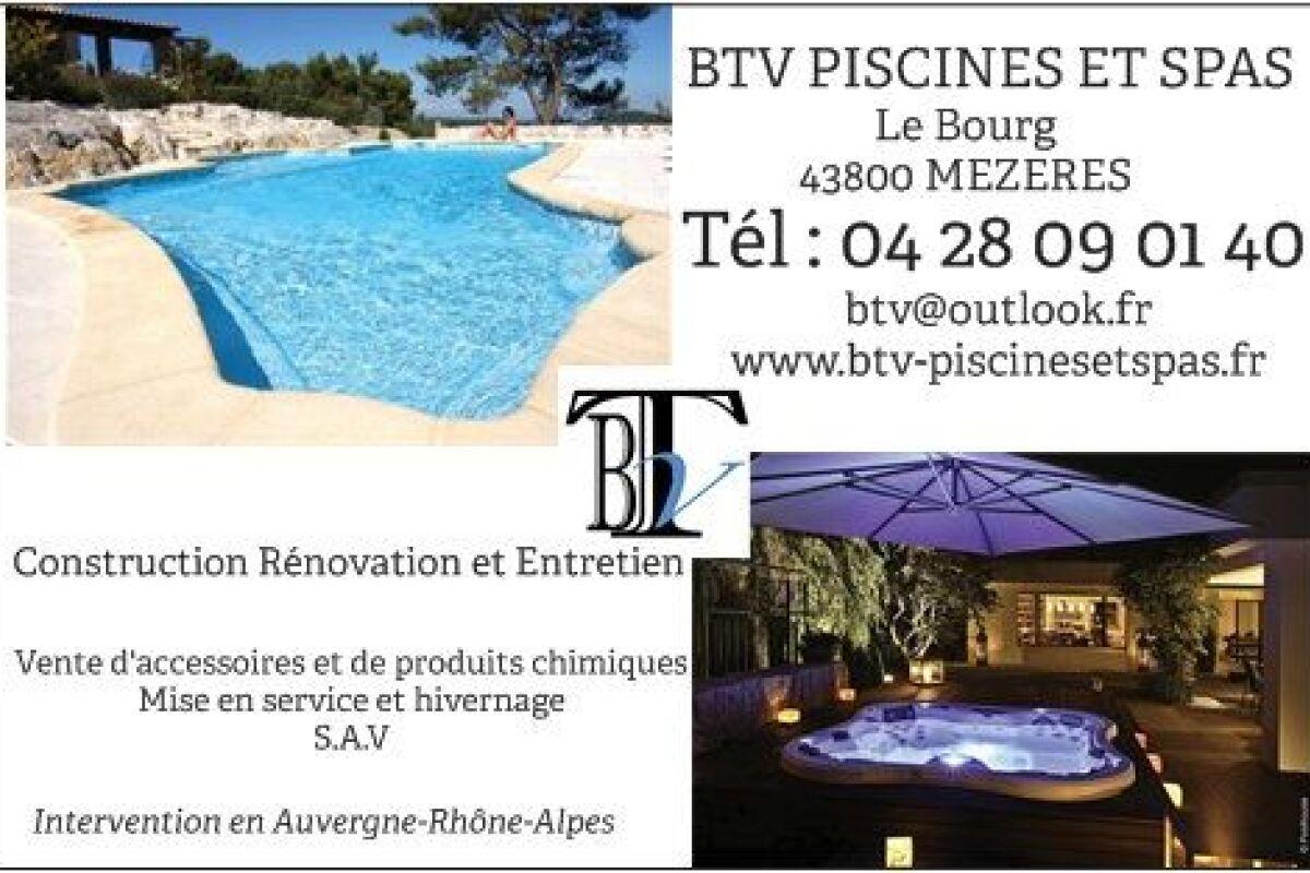 Btv Piscines Et Spas À Rosières, Pisciniste - Haute-Loire ... serapportantà Piscine Discount Firminy