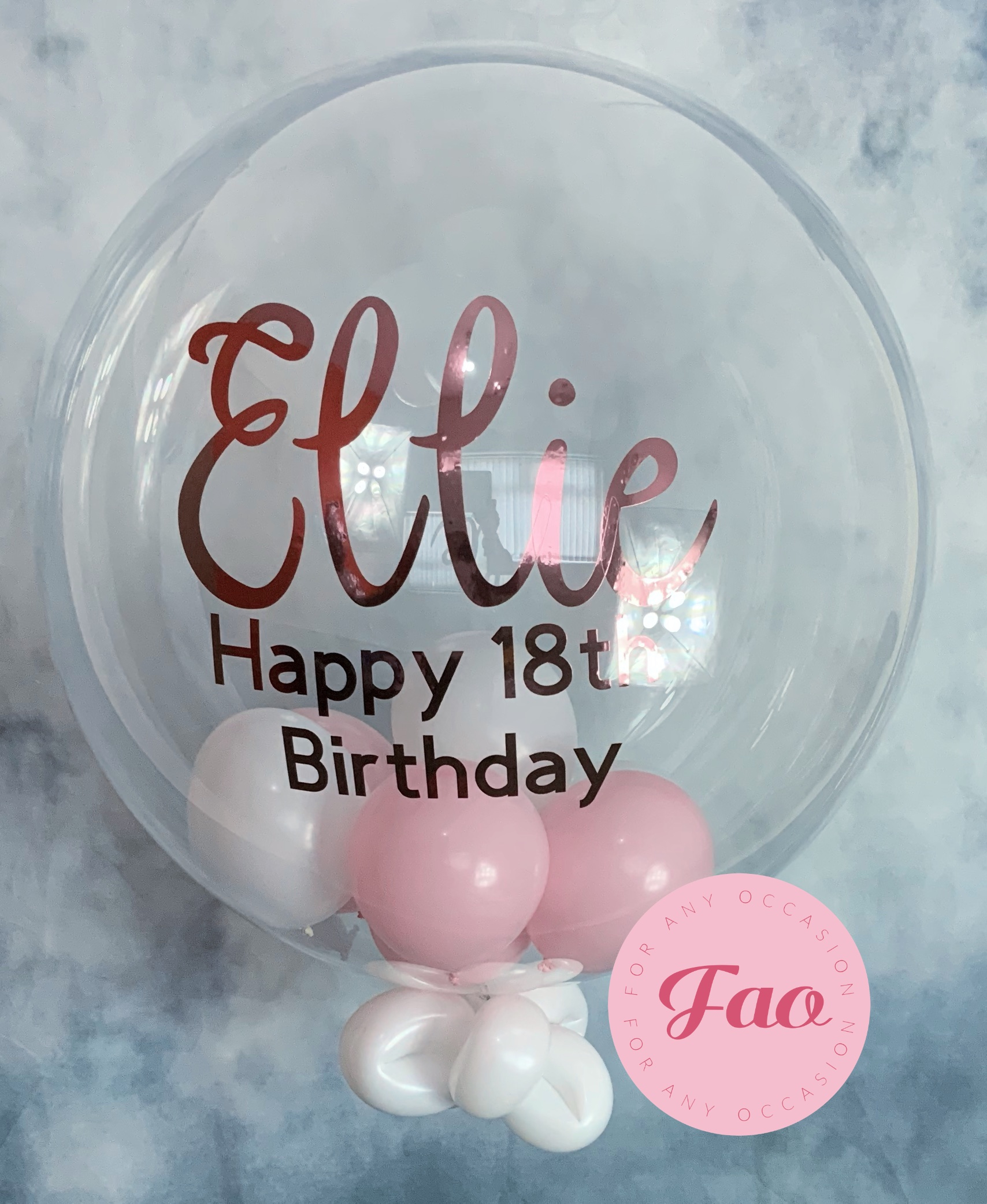 Bubble Balloon | For Any Occasion The Paty Starts Now à Bubble Occasion